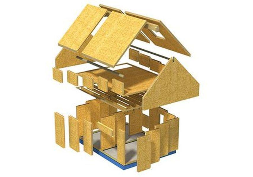 4 этапа строительства дома SIP