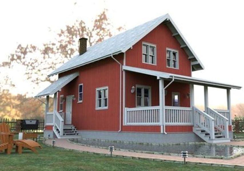Этапы и особенности строительства каркасного дома Лаута