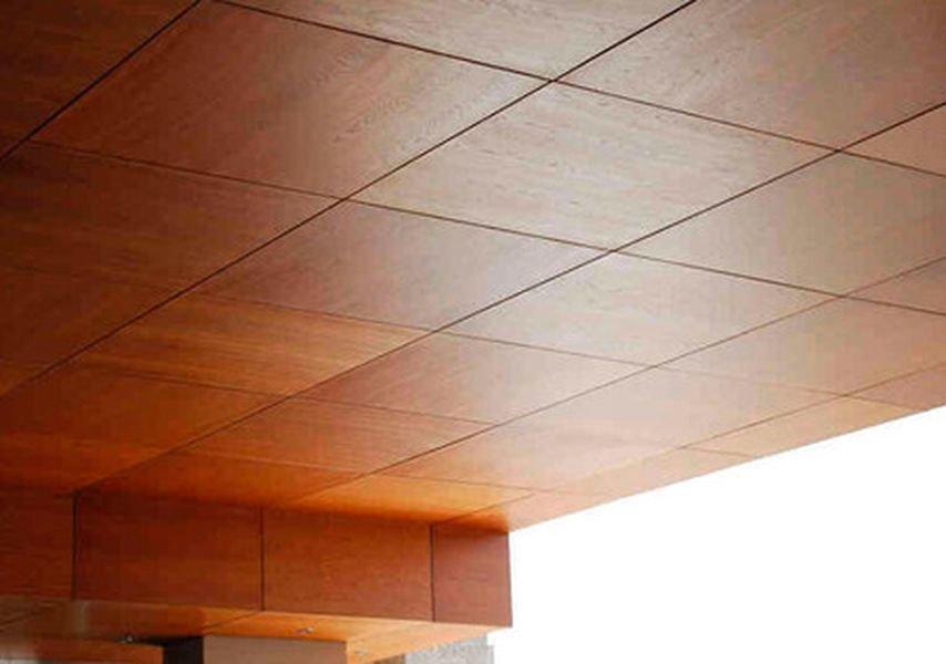 Фанера на потолок