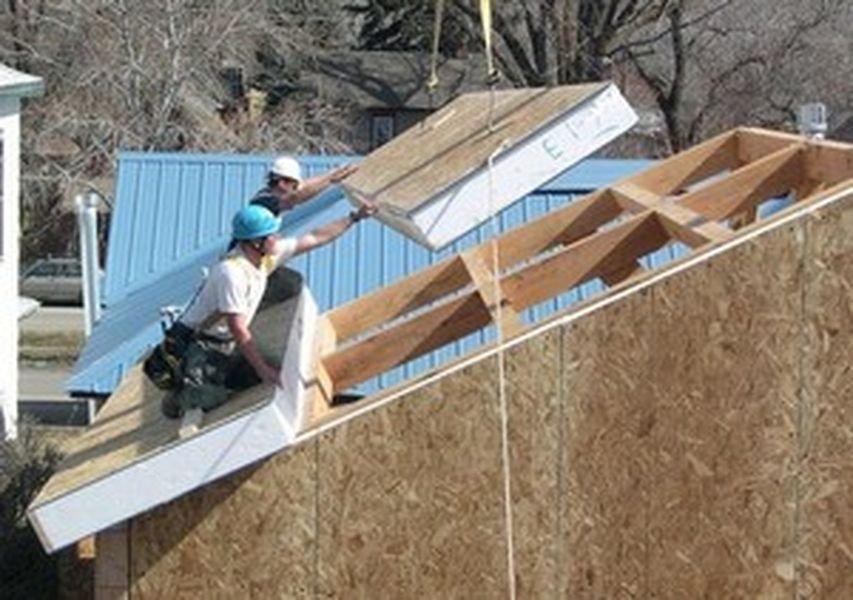 Как строится дом из панелей SIP: 5 основных этапов