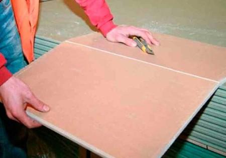 Методы и принципы раскроя листовых материалов, ГКЛ, ГКЛВ