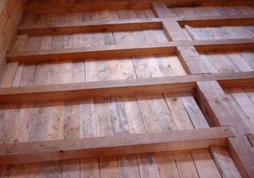 Обустройство пола в деревянном доме