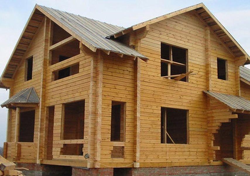 Плюсы домов из обрезного бруса
