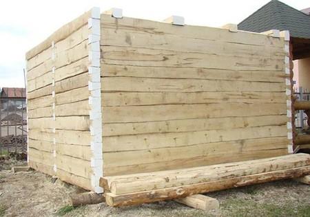 Применение в строительстве пиломатериалов из осины