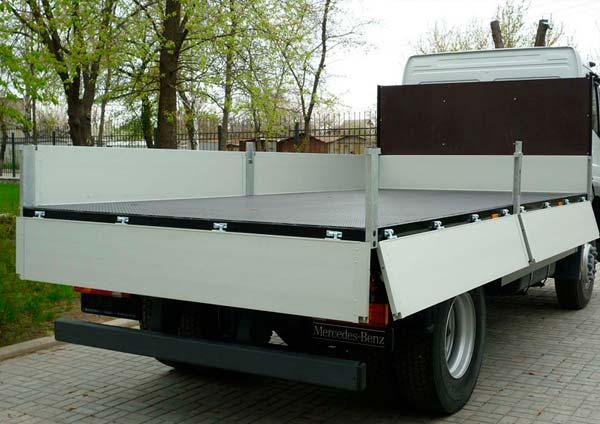 Борта грузовика из фанеры ламинированной