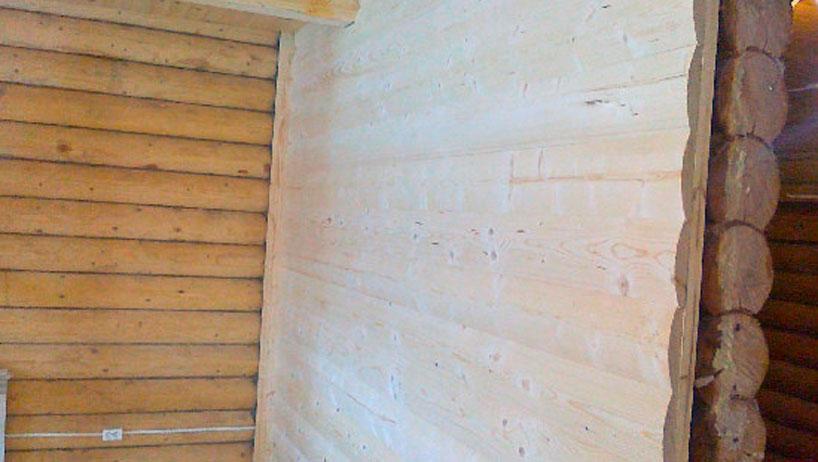 Видео по монтажу деревянного блокхауса