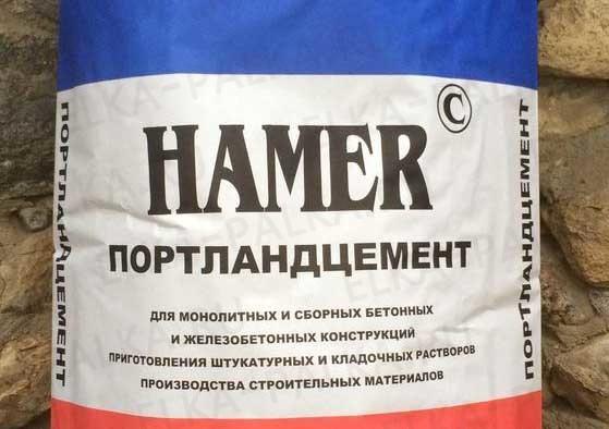 Цемент Финстрой М 500 40 кг Хамер