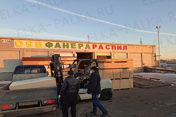 Фанера 18 мм береза ФК строительная 1525х1525 мм
