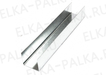 Металлический профиль ПН 28/27-3000 мм направляющий