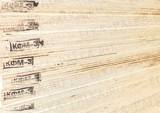 Фанера влагостойкая 18 мм береза ФК 4/4 1525х1525 мм
