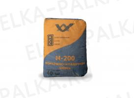 Пескобетон кладочная смесь М200