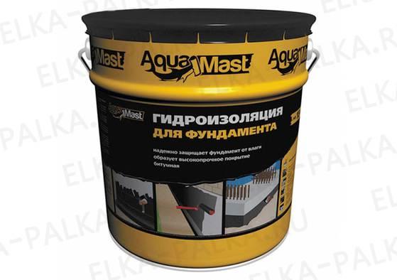 Мастика Аквамаст гидроизоляция фундамента (Технониколь)