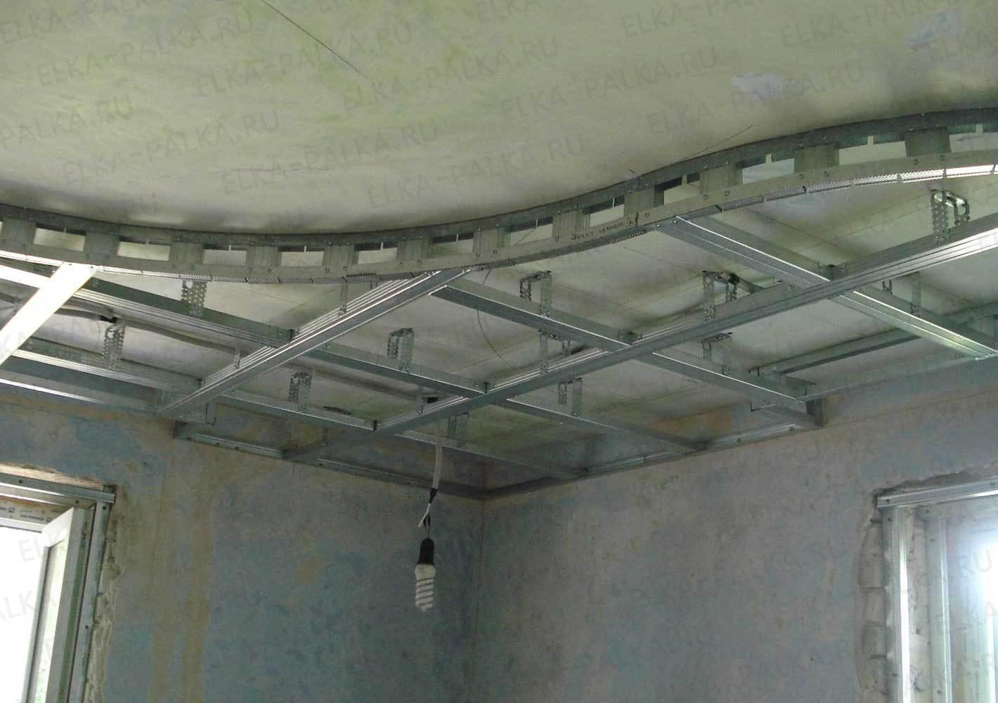 Фото конструкций из гипсокартона на потолке