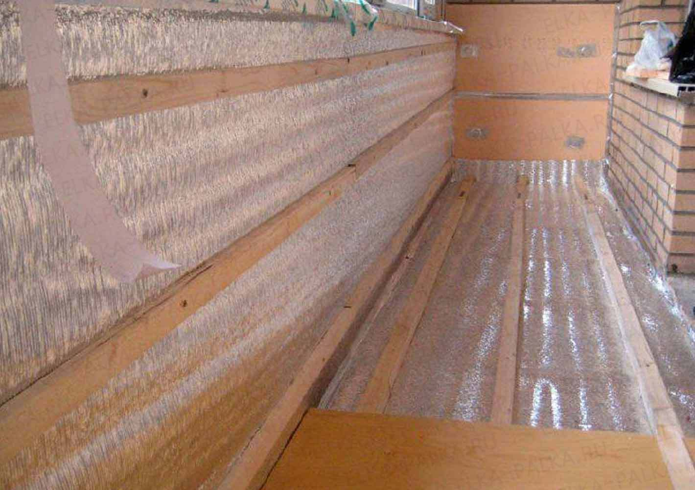 Утепление лоджии. утепление балкона томск бэст..
